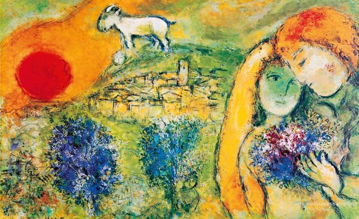 chagall-roma