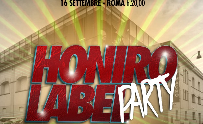 Honiro-Label-Party